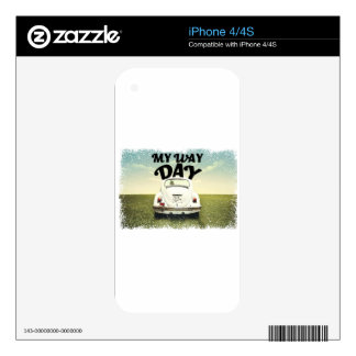 My Way Day - Appreciation Day Skin For iPhone 4