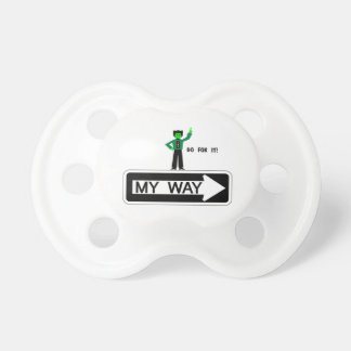 My Way - Go For It! Pacifier