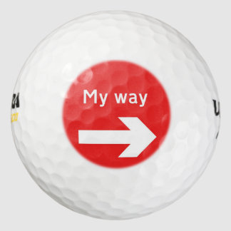 my way golf balls