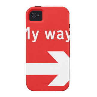 my way.jpg Case-Mate iPhone 4 cover