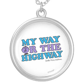 My Way Or The Highway Personalized Necklace