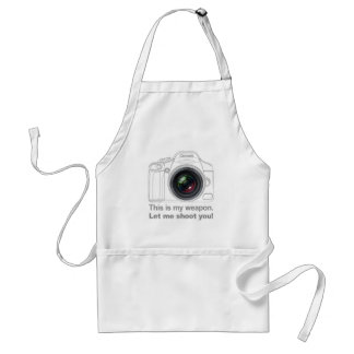 My Weapon Adult Apron