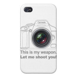 My Weapon iPhone 4/4S Case