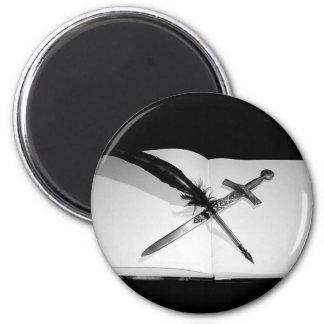 My Weapons Fridge Magnet
