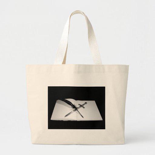 My Weapons Jumbo Tote Bag