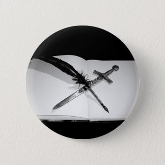 My Weapons Pinback Button