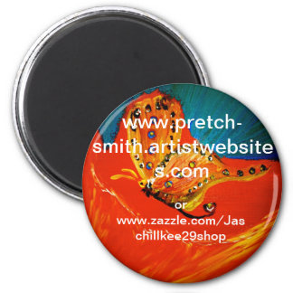 my website fridge magnet