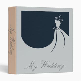 My Wedding Elegant memories and inspiration folder 3 Ring Binder