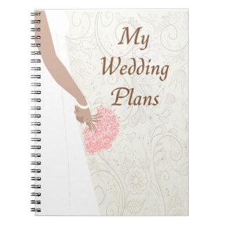 My Wedding Plans Notebook (AA)