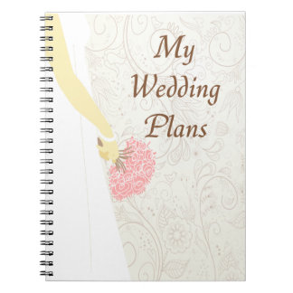 My Wedding Plans Notebook (CA)