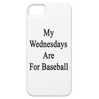 My Wednesdays Are For Baseball iPhone 5 Case