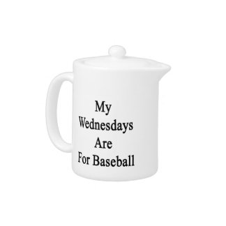 My Wednesdays Are For Baseball