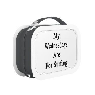 My Wednesdays Are For Surfing Yubo Lunchbox