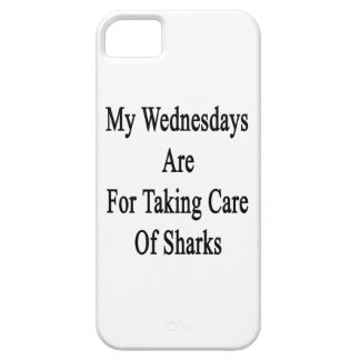 My Wednesdays Are For Taking Care Of Sharks iPhone 5 Cases