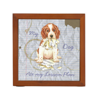 My Welsh Springer Ate My Lesson Plan Pencil Holder