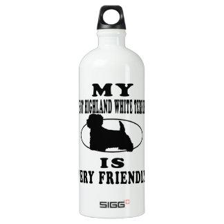 My West Highland White Terrier is very friendly SIGG Traveler 1.0L Water Bottle