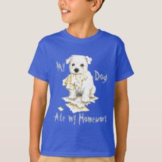 My Westie Ate My Homework T-Shirt