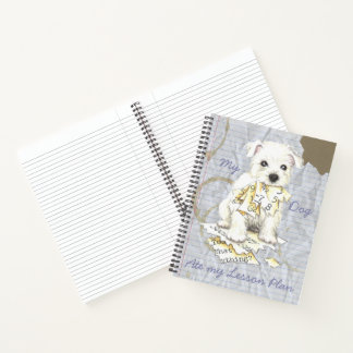 My Westie Ate my Lesson Plan Notebook