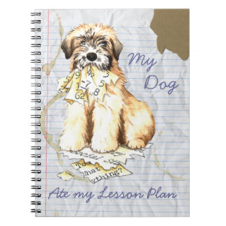 My Wheaten Ate My Lesson Plan Notebook