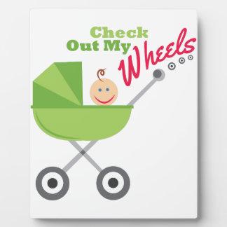 My Wheels Plaques
