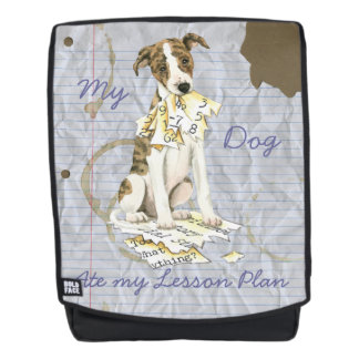 My Whippet Ate my Lesson Plan Backpack