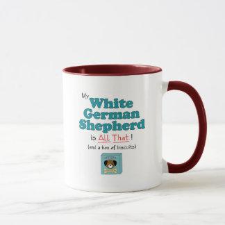 My White German Shepherd is All That! Mug