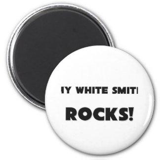 MY White Smith ROCKS! Refrigerator Magnet