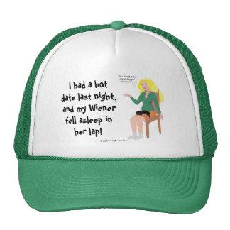 My Wiener Fell Asleep In Her Lap! Hat