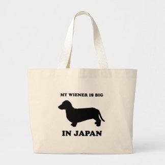 My Wiener is big in Japan Jumbo Tote Bag