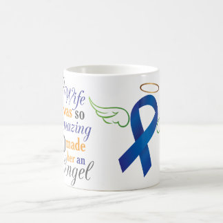 My Wife An Angel - Anal Cancer Coffee Mug
