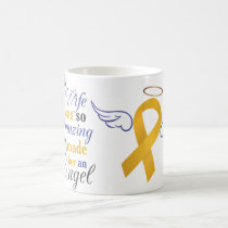 My Wife An Angel - Appendix Cancer Coffee Mug