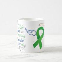 My Wife An Angel - Bile Duct Cancer Coffee Mug