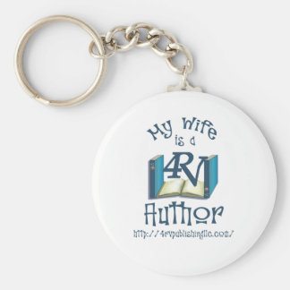 My Wife is a 4RV Author Keychain