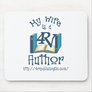 My Wife is a 4RV Author Mouse Pad
