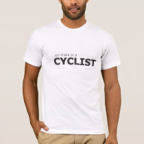 MY WIFE IS A CYCLIST/GYNECOLOGIC-OVARIAN CANCER T-Shirt
