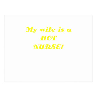 My Wife is a Hot Nurse Postcard