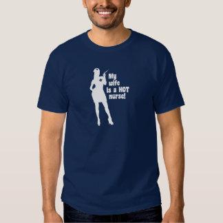 My Wife is a Hot Nurse Tee Shirt