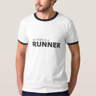 MY WIFE IS A RUNNER/GYNECOLOGIC-OVARIAN CANCER T-Shirt