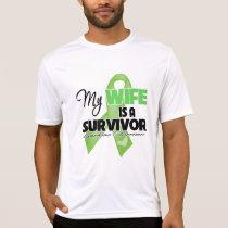 My Wife is a Survivor - Lymphoma T-Shirt