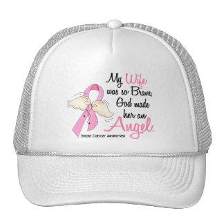 My Wife Is An Angel 2 Breast Cancer Trucker Hat