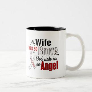 My Wife Is An Angel Lung Cancer Coffee Mug