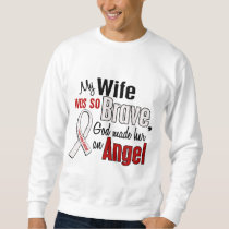 My Wife Is An Angel Lung Cancer Sweatshirt