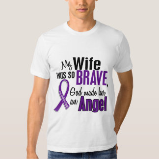 My Wife Is An Angel Pancreatic Cancer T-Shirt
