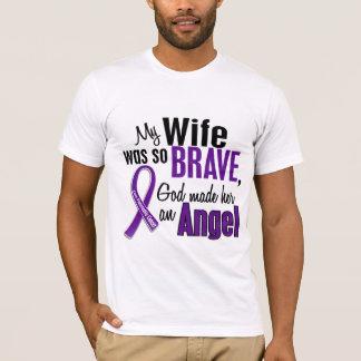 My Wife Is An Angel Pancreatic Cancer T-Shirt