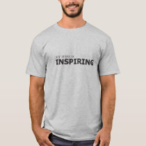 MY WIFE IS INSPIRING/GYNECOLOGIC-OVARIAN CANCER T-Shirt