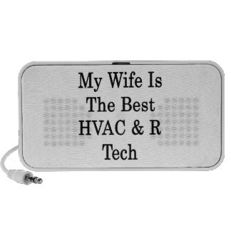 My Wife Is The Best HVAC R Tech Travel Speakers