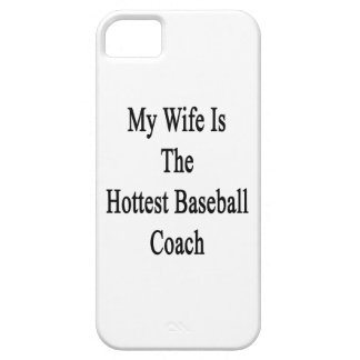 My Wife Is The Hottest Baseball Coach iPhone 5 Cover