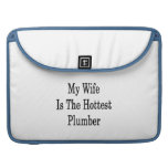 My Wife Is The Hottest Plumber Sleeves For MacBooks