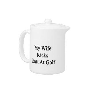 My Wife Kicks Butt At Golf