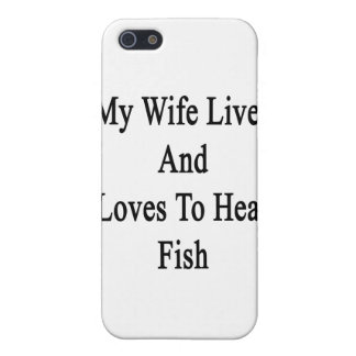 My Wife Lives And Loves To Heal Fish Case For iPhone 5/5S